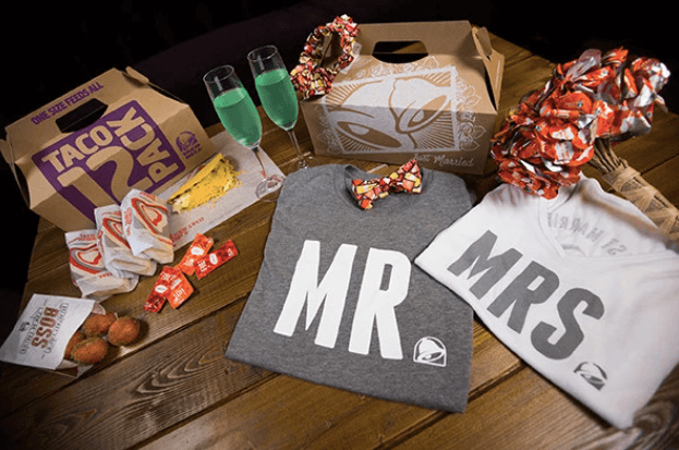 taco bell wedding packages