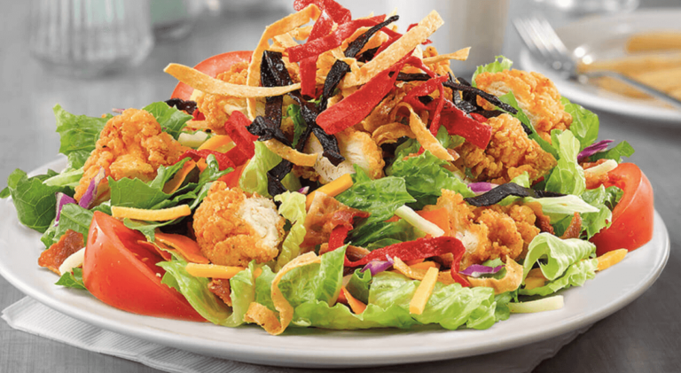 bacon ranched grilled chicken salad