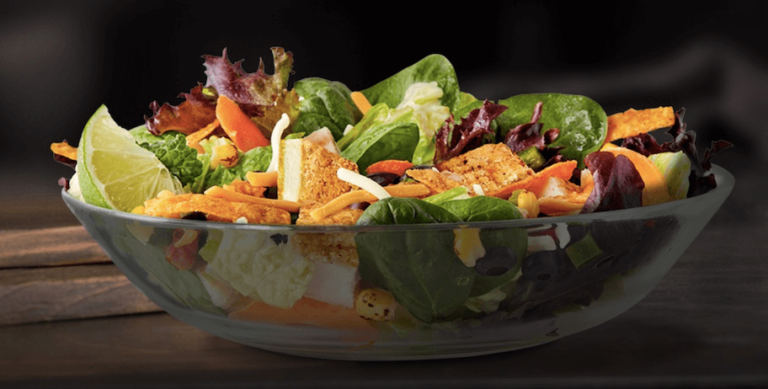 taco bell bacon ranch salad with buttermilk